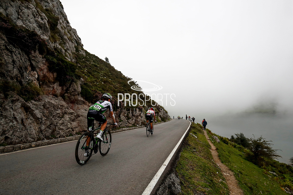 Landscape, fog during the 73th Edition of the 2018 Tour of Spain, Vuelta Espana 2018, Stage 15 cycling race, 15th stage Ribera de Arriba - Lagos de Covadonga 178,2 km on September 9, 2018 in Spain - Photo Luca Bettini/ BettiniPhoto / ProSportsImages / DPPI
