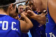 team, mani<br /> Nazionale Italiana Femminile Senior - Amichevole <br /> Italia Italy - Israele Israel<br /> FIP 2018<br /> La Spezia, 28/08/2018<br /> Foto M.Ceretti / Ciamillo-Castoria