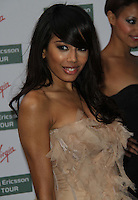 Jade Ewen of Sugababes World Tennis Association Pre-Wimbledon Party held at the Roof Gardens, Kensington, London, UK, 17 June 2010. For piQtured Sales contact: Ian@piqtured.com Tel: +44(0)791 626 2580 (Picture by Richard Goldschmidt/Piqtured)