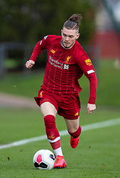 LIVERPOOL, ENGLAND - Monday, February 24, 2020: Liverpool's Harvey Elliott during the Premier League Cup Group F match between Liverpool FC Under-23's and AFC Sunderland Under-23's at the Liverpool Academy. (Pic by David Rawcliffe/Propaganda)