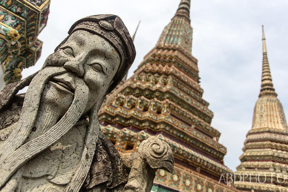 Wat Po temple in Bangkok Thailand Bangkok Thailand
