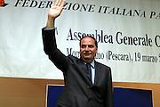 Montesilvano, 19 marzo 2005<br /> XL Assemblea Generale Montesilvano 2005<br /> Foto Ciamillo<br /> massimo blasetti