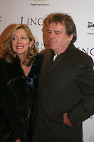 Brenda Rawn and Director and Writer Neil Jordan at the Lincoln film premiere Savoy Cinema in Dublin, Ireland. Sunday 20th January 2013.