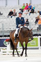 Frank Hosmar, (NED), Alphaville - Individual Test Grade IV Para Dressage - Alltech FEI World Equestrian Games™ 2014 - Normandy, France.<br /> © Hippo Foto Team - Jon Stroud <br /> 25/06/14