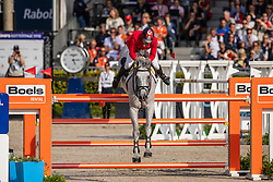 Karaevli Omer, TUR, Cheston de la Pomme d'Or Z<br /> European Championship Jumping<br /> Rotterdam 2019<br /> © Dirk Caremans<br /> Karaevli Omer, TUR, Cheston de la Pomme d'Or Z