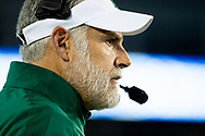 Eastern Michigan Eagles head coach Chris Creighton during the first half at Kroger Field in Lexington, Ky., Saturday, Sept. 7, 2019.