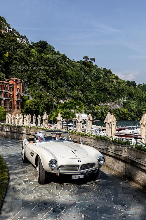 Como, Italy, Concorso d'Eleganza Villa D'Este, BMW 507