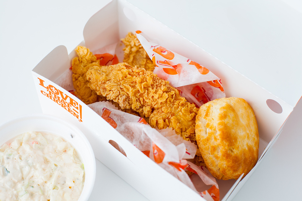 3 Piece Chicken Tenders from Popeyes 14th st ($8.81)
