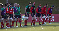 Rugby Union - 2017 British & Irish Lions Tour of New Zealand - Training <br /> <br /> Jonathan Sexton of The British and Irish Lions looks along the line during a training session at Rotorua International Stadium back pitches, Rotorua.<br /> <br /> <br /> COLORSPORT/LYNNE CAMERON