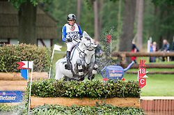 Lips Tim, (NED), Bayro   <br /> Cross country - CIC3* Luhmuhlen 2016<br /> © Hippo Foto - Jon Stroud<br /> 18/06/16