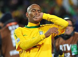 Football - soccer: FIFA World Cup South Africa 2010, Brazil (BRA) - Korea DPR (PRK), Douglas Maicon