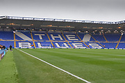 General view of the ground before the EFL Sky Bet Championship match between Birmingham City and Fulham at the Trillion Trophy Stadium, Birmingham, England on 9 November 2019.