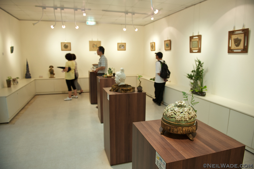 Inside Shiding Tamlan Arts Center