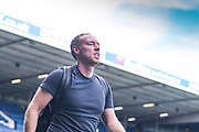 Steve Cooper of Swansea City (Manager) arrives at the ground during the EFL Sky Bet Championship match between Leeds United and Swansea City at Elland Road, Leeds, England on 31 August 2019.