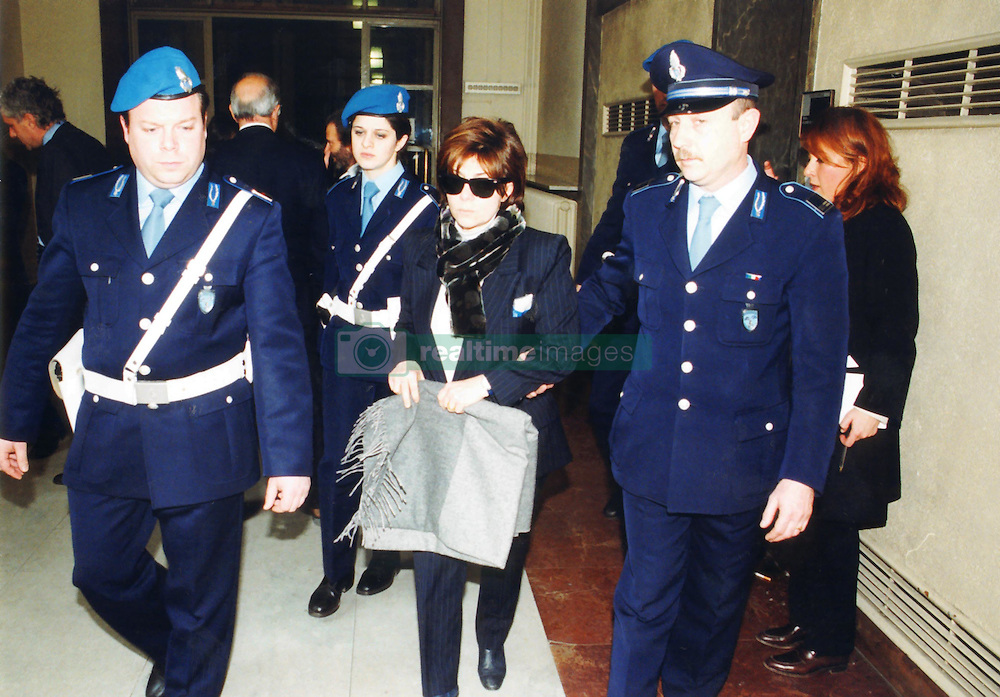 Italy, Milan - May 1994.Patrizia Reggiani arrested..Patrizia Reggiani arranged the murder of her ex-husband Maurizio Gucci in 1995, and she was sentenced to 26 years in prison in 1998. (Credit Image: © Maule/Fotogramma/Ropi via ZUMA Press)