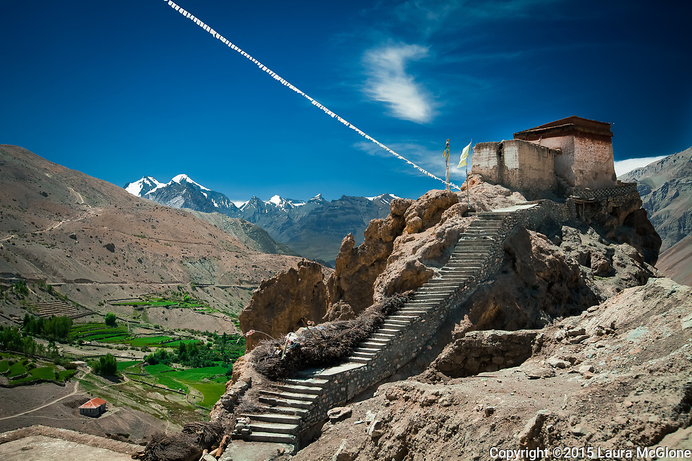 Dhankhar Tibetan Monastery, Spiti Valley, India