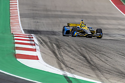 March 23, 2019 - Austin, Texas, U.S. - ZACH VEACH (26) of the United States goes through the turns during practice for the INDYCAR Classic at Circuit Of The Americas in Austin, Texas. (Credit Image: © Walter G Arce Sr Asp Inc/ASP)