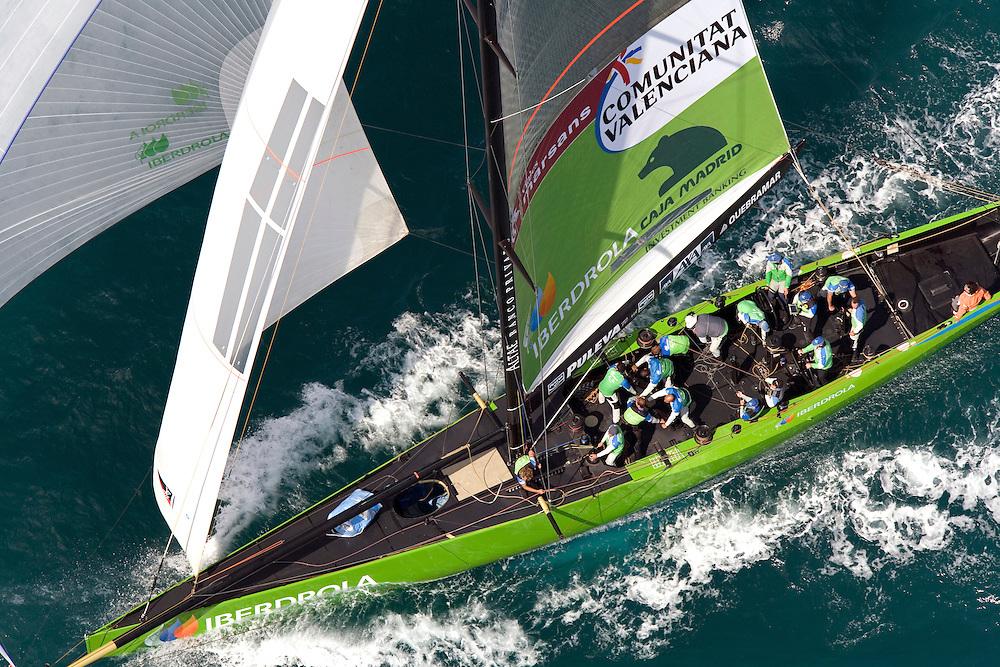 America's Cup 2007 Louis Vuitton Act 13, 6/4/07, Race 4. Desafio Espanol (ESP)