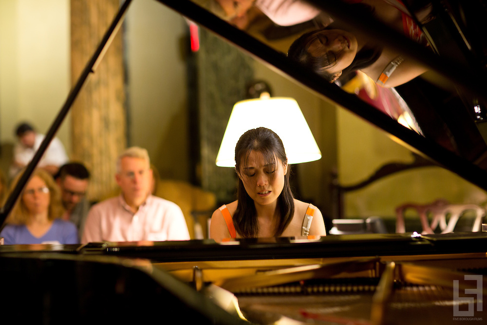 Members of the Piano Faculty from the University of Utah School of Music perform in Concert at Steinway Hall in New York City.  October 17th, 2013.