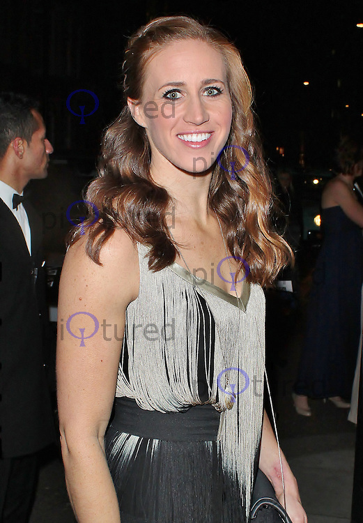 LONDON - November 30: Helen Glover at the British Olympic Ball (Photo by Brett D. Cove)
