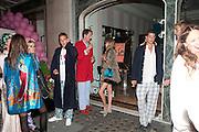 ALEXANDRA SPENCER , Tatler magazine's  pyjama party sponsored by Thomas Pink. Claridge's. London. 7 July 2011.<br /> <br />  , -DO NOT ARCHIVE-© Copyright Photograph by Dafydd Jones. 248 Clapham Rd. London SW9 0PZ. Tel 0207 820 0771. www.dafjones.com.