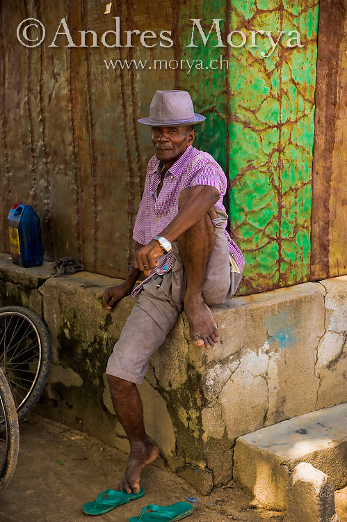 Malagasy man, West Madagascar, Madagascar Image by Andres Morya