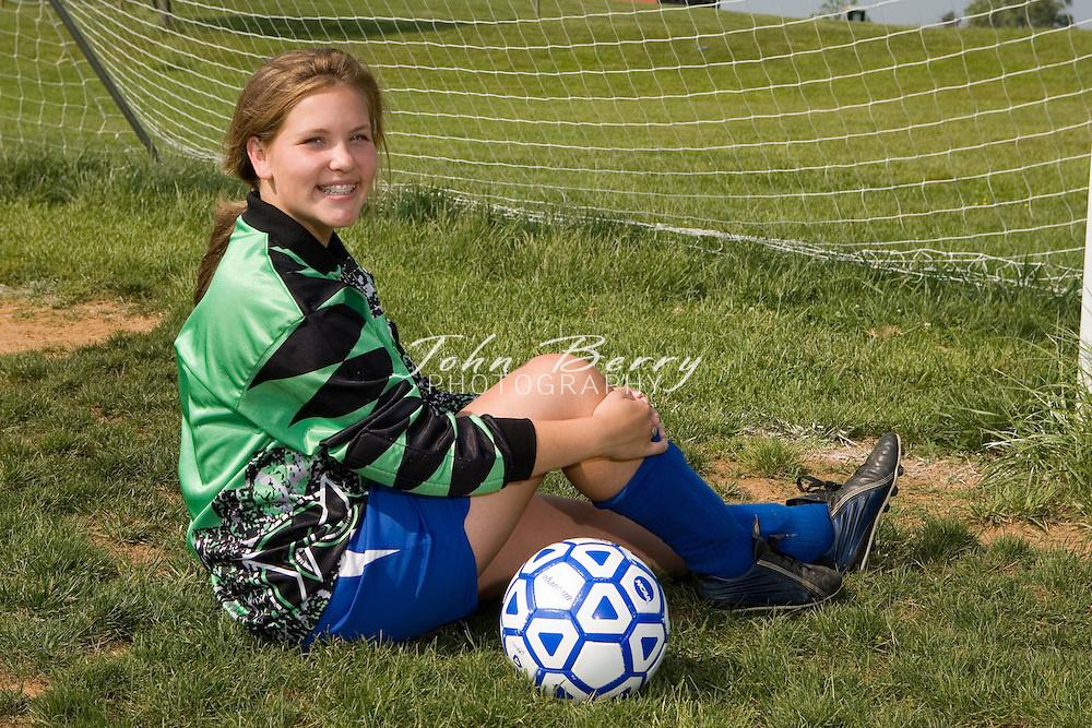 MCHS Girl's Varsity Soccer .Team Photos.5/15/2007