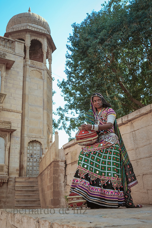 Daily life and travel photos of Rajasthan, India, December 2017