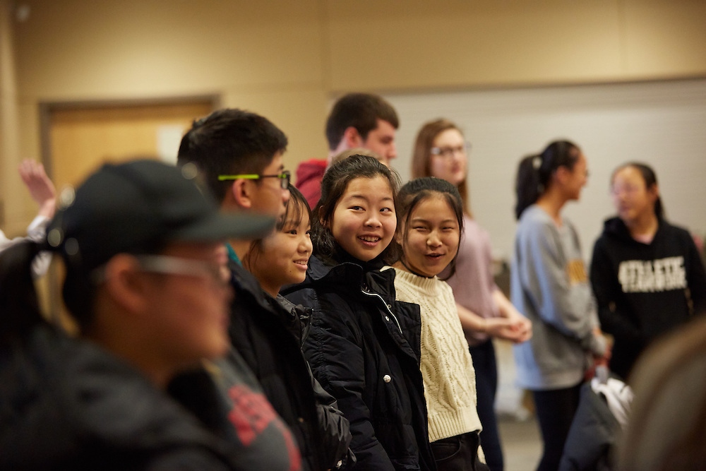 Activity; Collaboration; Community Service; People; Diversity; Type of Photography; Candid; UWL UW-L UW-La Crosse University of Wisconsin-La Crosse; Chinese students visit UWL