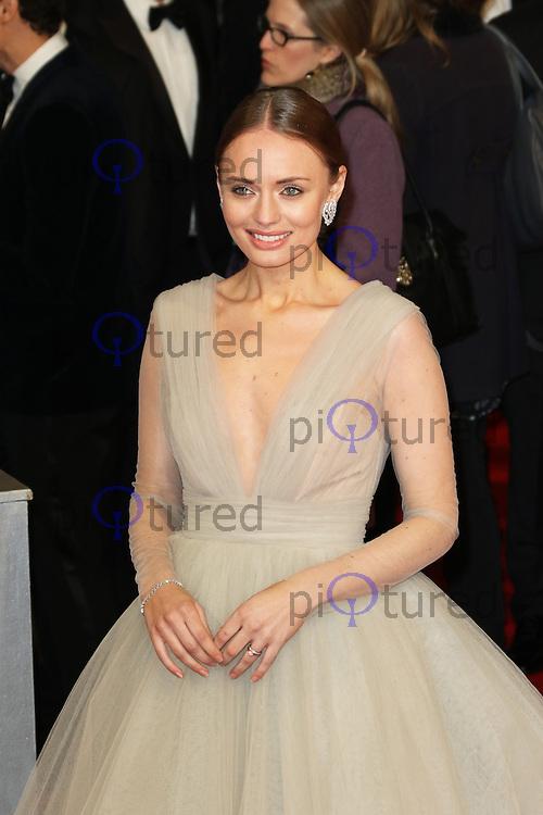 Laura Haddock, EE British Academy Film Awards (BAFTAs), Royal Opera House Covent Garden, London UK, 08 February 2015, Photo by Richard Goldschmidt