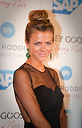 Brooklyn Decker at the Andy Roddick Foundation, Austin, Texas, September 21, 2012. Brooklyn Danielle Decker (born April 12, 1987) is an American fashion model and actress best known for her appearances in the Sports Illustrated Swimsuit Issue. Decker is married to retired tennis player Andy Roddick.