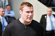 Mansfield Town manager David Flitcroft  before the EFL Sky Bet League 2 match between Chesterfield and Mansfield Town at the Proact stadium, Chesterfield, England on 14 April 2018. Picture by Nigel Cole.