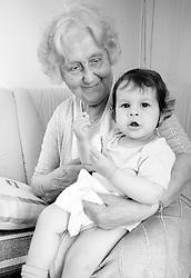Grandmother. (Photo by Vid Ponikvar / Sportal Images)
