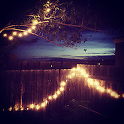 Fiesta Lights. Santa Fe, New Mexico.