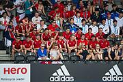 England U21s. England v Argentina - Hockey World League Semi Final, Lee Valley Hockey and Tennis Centre, London, United Kingdom on 18 June 2017. Photo: Simon Parker