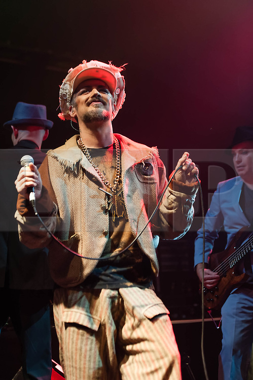© Licensed to London News Pictures. 10/11/2013. London, UK.  A slim and healthy looking Boy George performing live at KOKO on his comeback tour. Over the years Boy George has battled with drug and alcohol addiction and is reported to have at one point weighed 19 stone, he turned age 50 two years ago, and is touring to promote his album 'This is What I Do'.  Boy George (born George Alan O'Dowd) s an English singer-songwriter, who was part of the English New Romanticism movement which emerged in the early-mid-1980s. During the 1980s, Boy George was the lead singer of the Grammy and Brit Award winning pop band Culture Club.  Photo credit : Richard Isaac/LNP