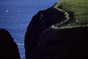Malinbeg bay near Glencolumbcille (or Glemcolcille).