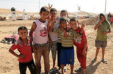 AUG 25 2013 Refugee Camp in Iraq
