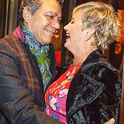 NLD/Amsterdam/20150914 -Jubileumvoorstelling Paul van Vliet 80 Jaar, Frank Sanders en Vera Mann