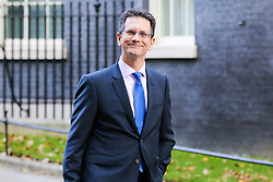 © Licensed to London News Pictures. 22/10/2019. London, UK. Member of European Research Group (ERG) STEVE BAKER  departs from No 10 Downing Street after meeting the Prime Minister BORIS JOHNSON. Photo credit: Dinendra Haria/LNP