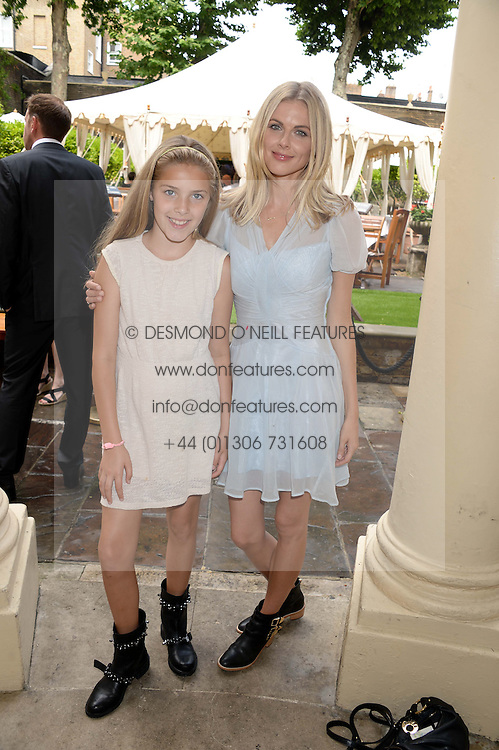 DONNA AIR and her daughter FREYA ASPNALL at the 6th Dogs Trust Honours held at Home House, Portman Square, London on 23rd July 2013.