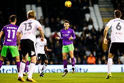 Josh Brownhill of Bristol City in action - Rogan/JMP - 31/10/2017 - Craven Cottage - London, England - Fulham FC v Bristol City - Sky Bet Championship.