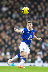 LONDON, ENGLAND - Sunday, February 9, 2014: Everton's Seamus Coleman in action against Tottenham Hotspur during the Premiership match at White Hart Lane. (Pic by David Rawcliffe/Propaganda)