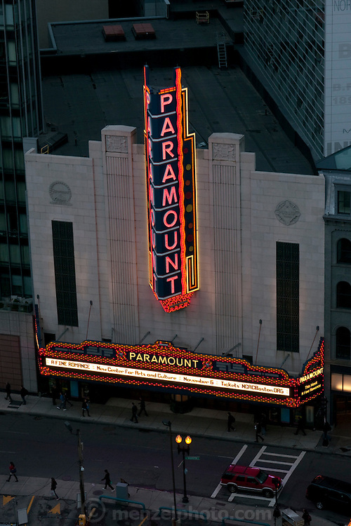 Paramount Theater, Boston, MA
