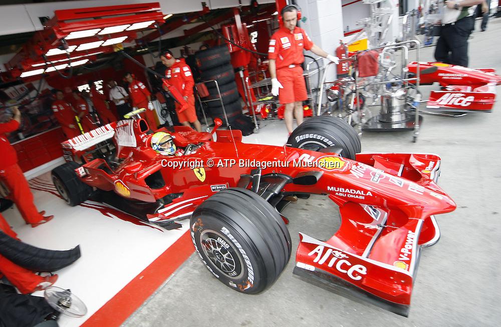 Felipe MASSA, BRAZIL, Brasilien - Ferrari <br />- Silverstone, Formel 1 - 05.07.2008, F1 GP von England in Silverstone - British GP - Foto: &copy; ATP Arthur THILL