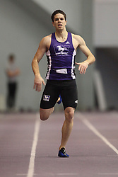 London, Ontario ---11-01-22---   Thomas Davis of the Western Mustangs competes at the 2011 Don Wright meet at the University of Western Ontario, January 22, 2011..GEOFF ROBINS/Mundo Sport Images.