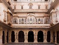 Junagarh Fort in city of Bikaner rajasthan state in indi