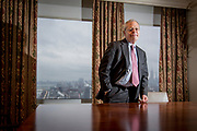 The American economist Ed Morse is currently the Global Head of Commodities Research at Citigroup in New York. Here he is photographed in the offices of Citigroup Global Markets Inc.