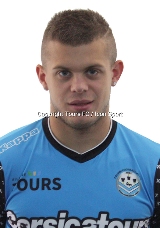 Romain Bayard during the during photoshooting of Tours FC for new season 2017/2018 on October 5, 2017 in Tours, France<br /> Photo : Tours FC / Icon Sport