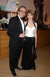 GERALD SCARFE and his wife actress JANE ASHER at a fundraising gala to celebrate 150 years of The National Portrait Gallery, at the NPG, St.Martin's Place, London on 28th February 2006.<br /><br />NON EXCLUSIVE - WORLD RIGHTS